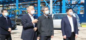 抓项目建设,促经济发展——苏州市委副书记朱民调研盛虹集团