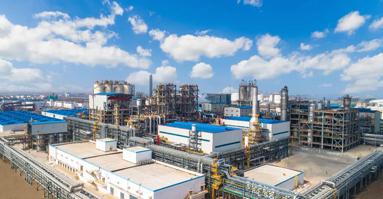 全产业链优势再提升| 虹港石化二期240万吨/年PTA扩建项目正式投产